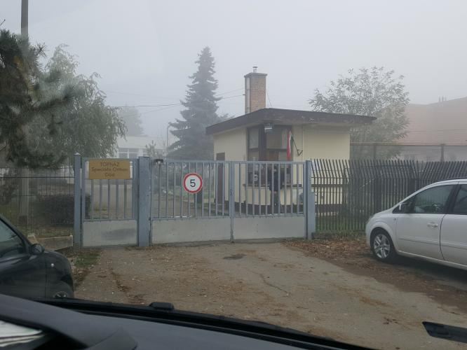 """Topház Speciális Otthon (""""Topház Special Home""""), Göd, Hungary. (c) MDAC."""
