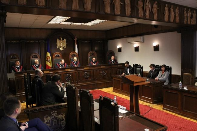 Constitutional Court of the Republic of Moldova hears petitions on guardianship. Source: constcourt.md