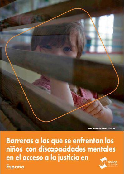 Barreras a las que se enfrentan los niños con discapacidades mentales en el acceso a la justicia en España