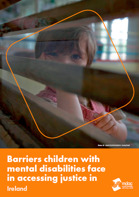 Front cover: Access to justice for children with mental disabilities - Factsheet - Ireland