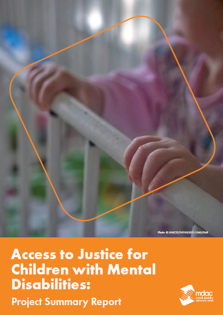 Access to Justice for Children with Mental Disabilities: project summary report
