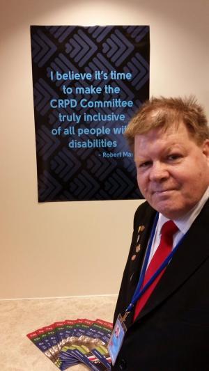 Robert Martin, CRPD Committe Member
